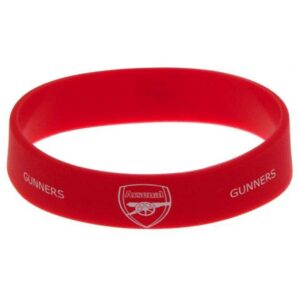 Arsenal Rubber Crest Single Wristband