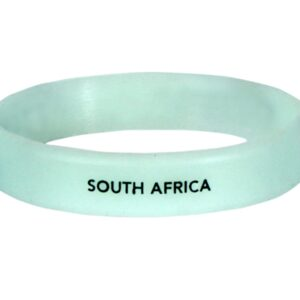 ICC Official Cricket World Cup South Africa Team Merchandise Glow in The Dark Hand Band