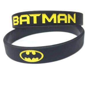 batman rubber wristbands